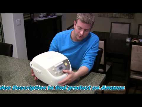 Panasonic Rice Cooker With Fuzzy Logic - Product Review