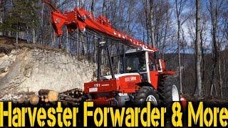TST Junior - Tractor Yarder on Steyr 8130 Turbo
