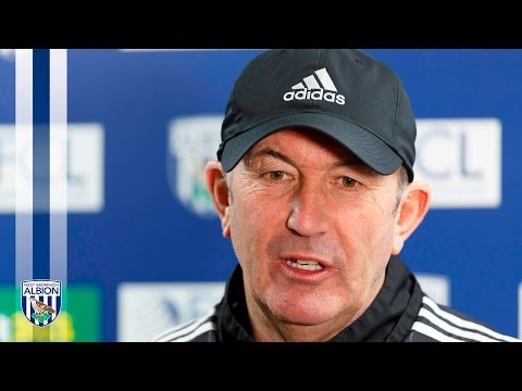 PRESS CONFERENCE: Tony Pulis speaks to the media ahead of Manchester United