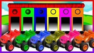 子供たちが色を学ぶための炎の色 - 子供のための色