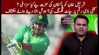 vuclip Sharjeel Khan banned for five years by PCB | Pakistani Cricket