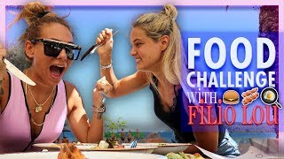 Food Challenge | Filio Lou