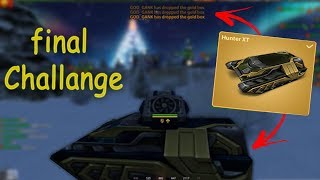 Tanki Online - Completing the final challenge (Christmas Event) + Gold Box