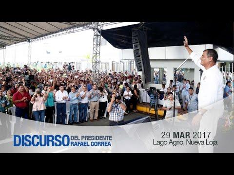 Entrega de áreas que se encuentran operativas del Hospital General Marco Vinicio Iza de Lago Agrio