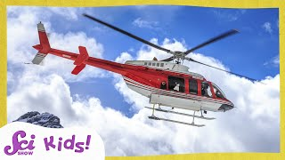 How Do Helicopters Fly? | Make a Helicopter!