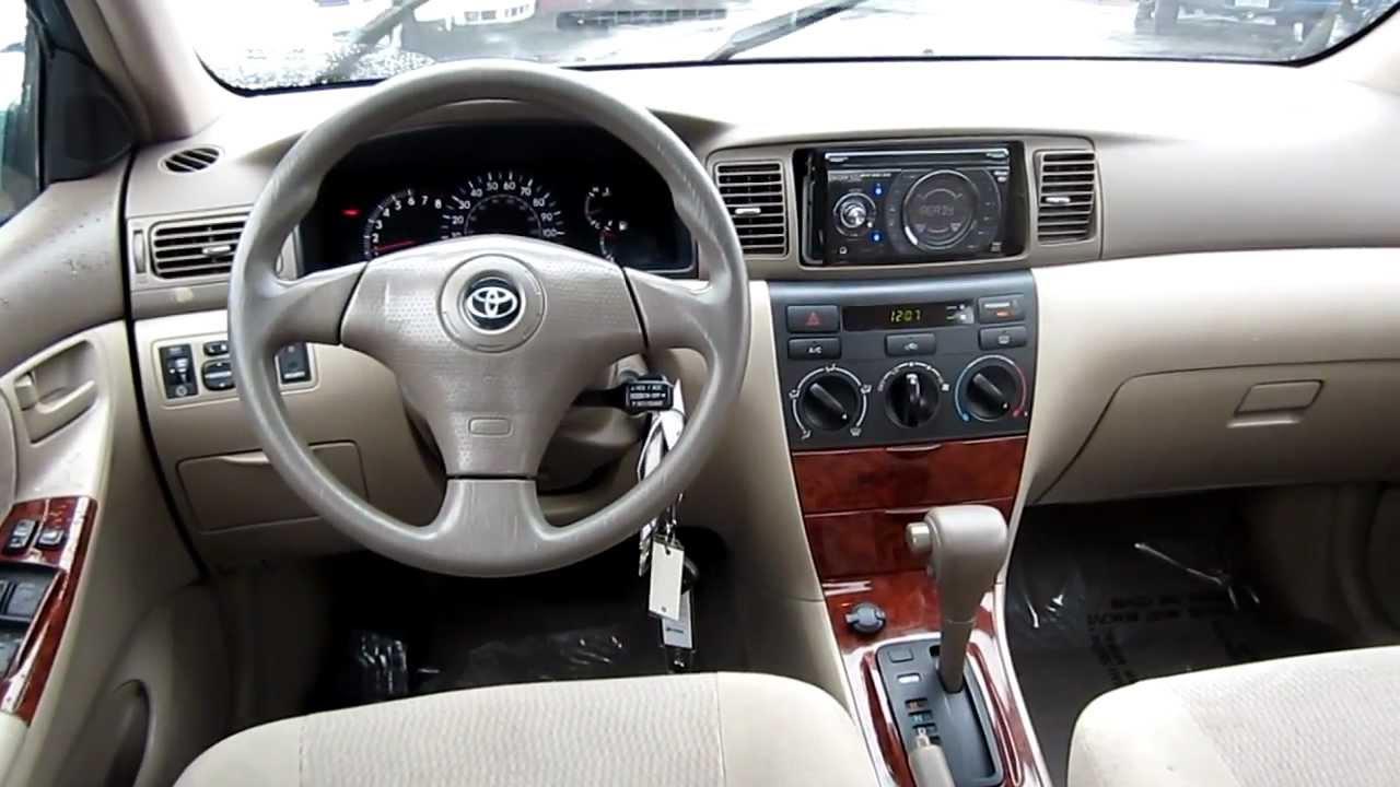 2005 Toyota Corolla LE, Blue   Stock# L416132   Interior