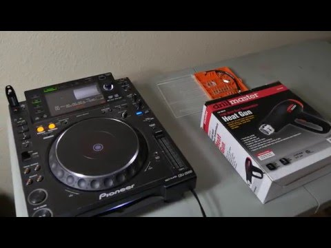 How to fix the CDJ 2000 Wait E-8709 Error Tutorial