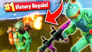 CRAZY Snipes for my FIRST Game w/ the NEW Moisty Merman Skin! - Fortnite Battle Royale BEST Moments