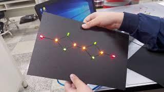 나만의 별자리 만들기(아두이노와 브레드보드, LED 이…