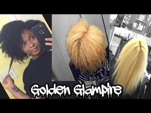 How I BLEACHED and toned MY NATURAL (virgin) HAIR   From Black to Blonde