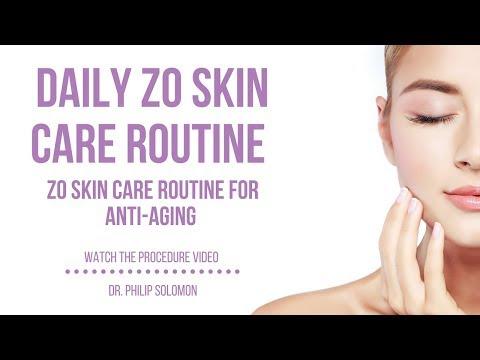 Daily ZO Skincare Routine For Anti-aging | Dr. Philip Solomon