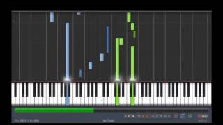 Joe Harnell - The Lonely Man - Piano Tutorial (synthesia)