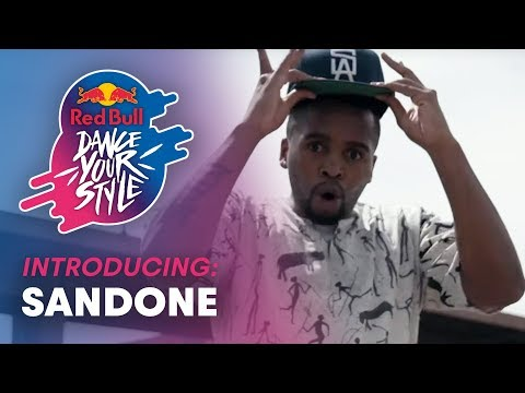 Sandone, South-African Animation Dancer | Red Bull Dance Your Style South Africa