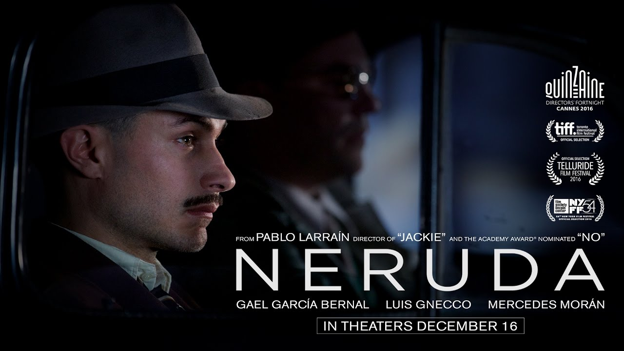 Neruda (2016) | Official Trailer HD - YouTube