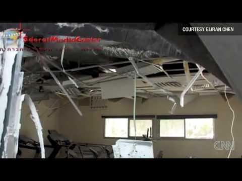 Gaza rocket hits Israel community center