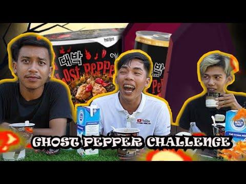 Download ghost pepper challenge! siapa kalah kena denda!