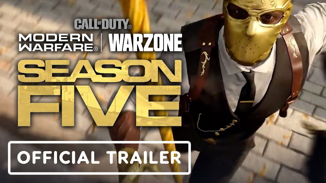 Call Of Duty Modern Warfare Warzone Official Season 5 Trailer Youtube