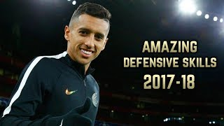 Marquinhos 2017-18 | Amazing Defensive Skills