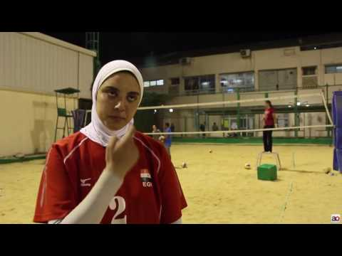 What Egypt Beach Volleyball teenager said about hijab before Rio