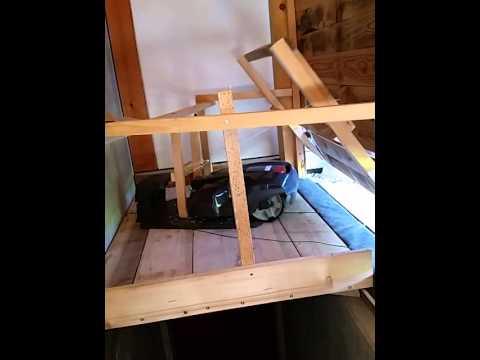 garage rasenm hroboter rotenbach h tte robby doovi. Black Bedroom Furniture Sets. Home Design Ideas