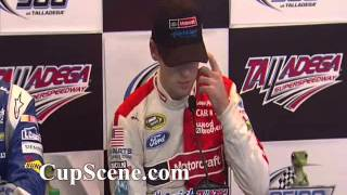 nascar at talladega superspeedway may 2015 johnson blaney post race