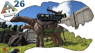 ARK Survival Evolved Gameplay - S2 Ep26 - Paraceratherium Taming - Let