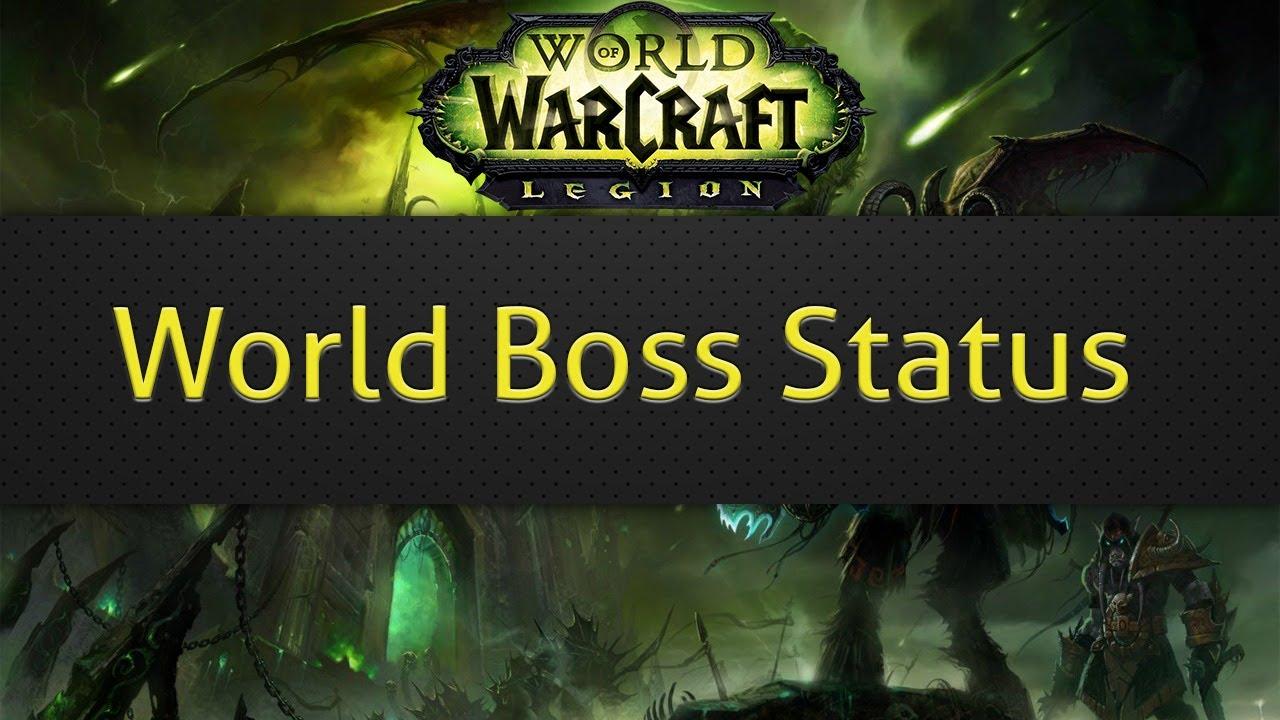 World Boss Status (WoW addon)