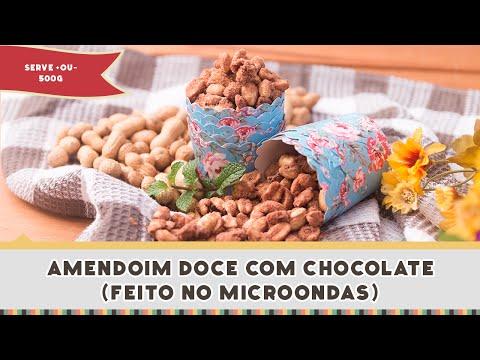 Amendoim Doce com Chocolate - Receitas de Minuto EXPRESS #206
