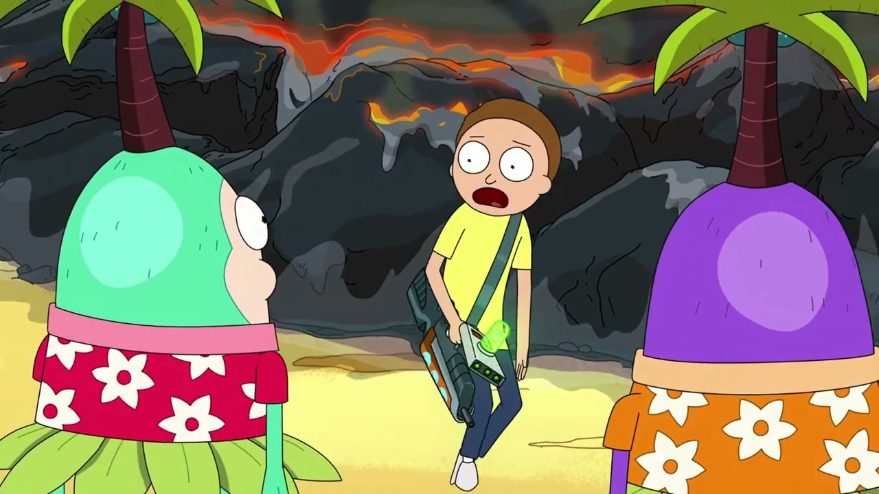 Download Morty cleaning up after Rick   Rick and Morty