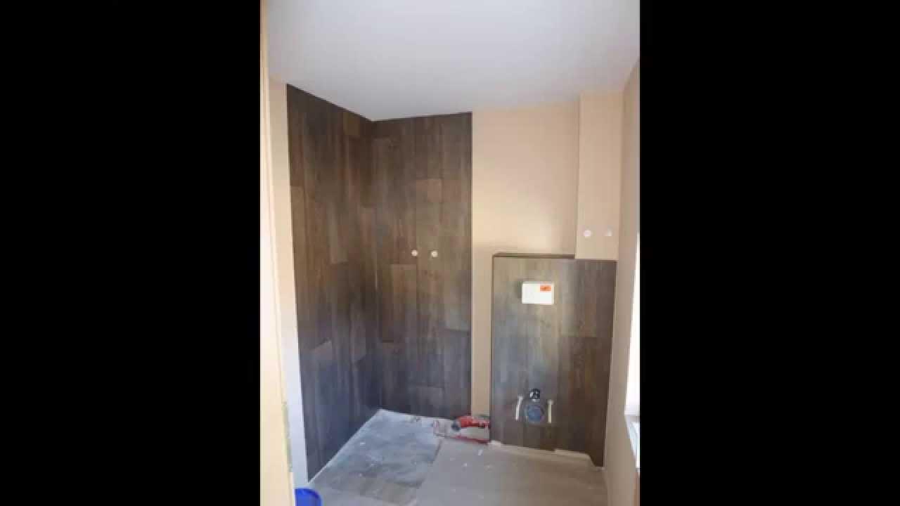 Duschw nde mit belag bekleben youtube for Badezimmergestaltung mit dusche