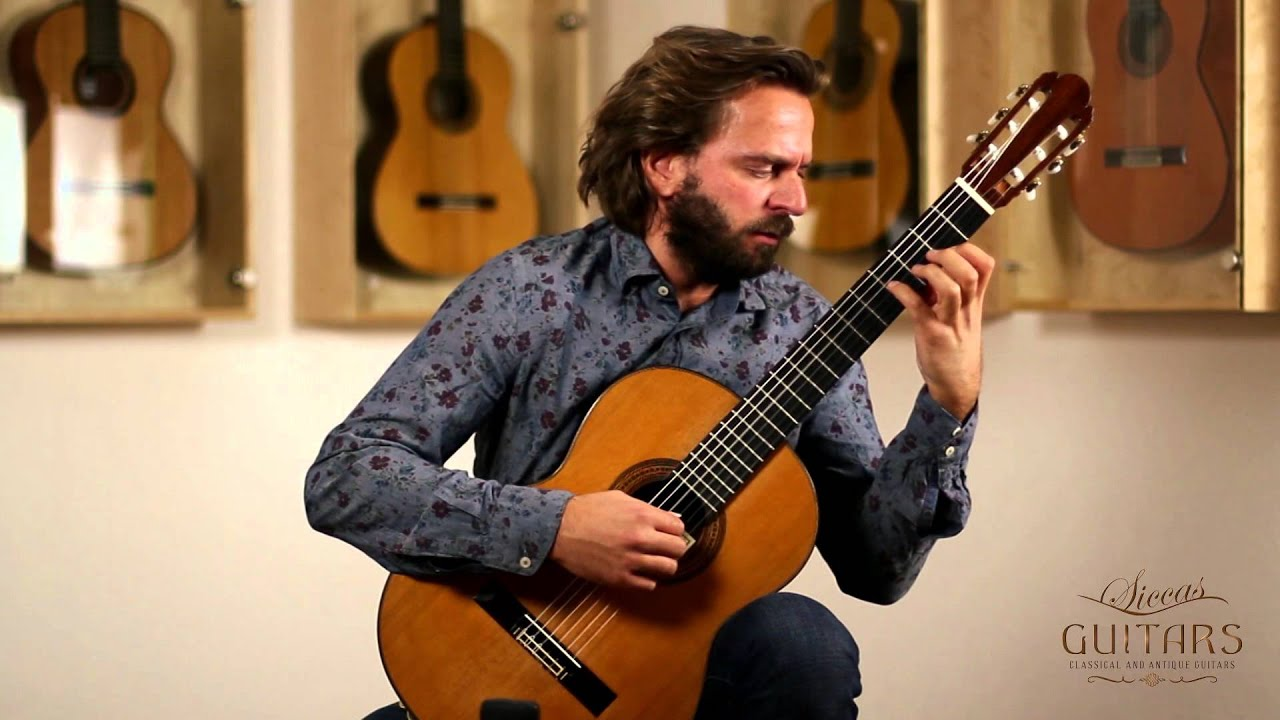Marcin Dylla plays Somewhere over the Rainbow by Harold Arlen on a 1999 Fleta (arr. Tōru Takemitsu)