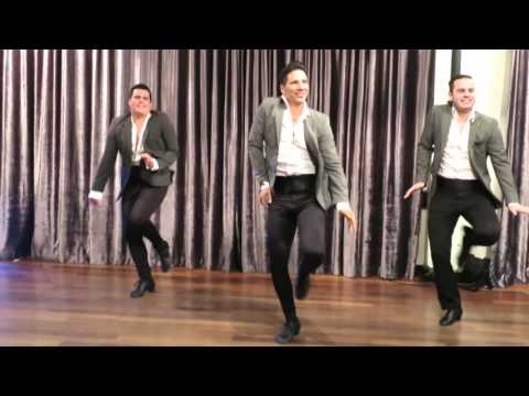 Boogaloo (Rodrigo, Victor & Adriano) at the Baila Con Gusto Night on April 7th 2016