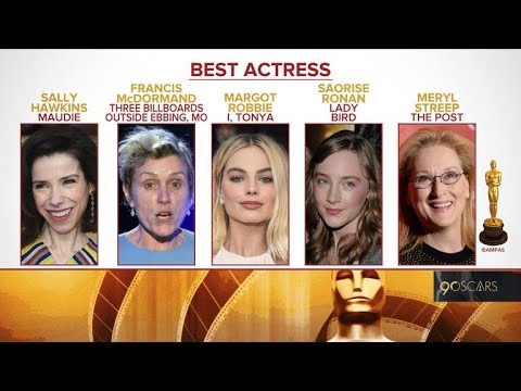 Oscar 2018 nominations announced - YouTube