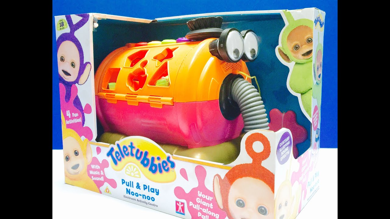 Brand New Pull and Play NOO NOO TELETUBBIES Toy Opening