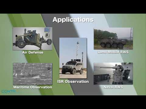 CONTROP's SIGHT-HD for Armored Vehicles and Remote Weapon Stations