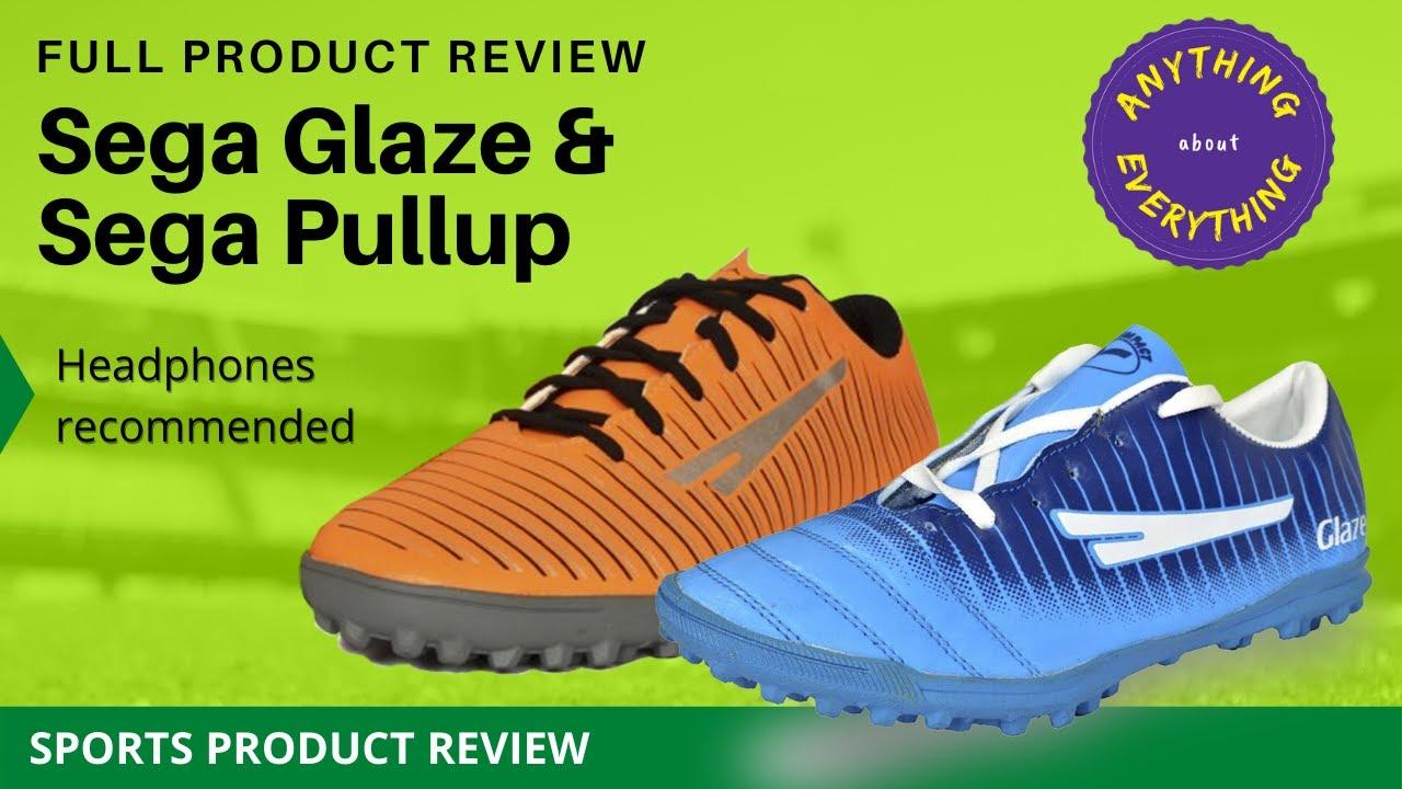 Sega football boots review: Sega glaze