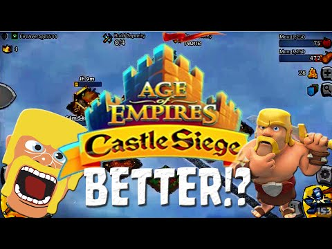 Better Than Clash Of Clans!? Age Of Empires Castle Siege