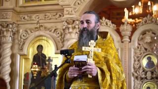 Проповедь отца А.Захарова о счастье.
