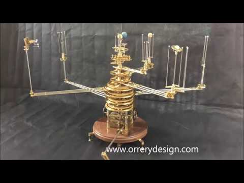 Nine Planet Genesis Orrery