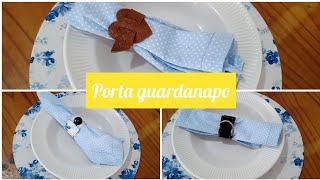 3 Modelos de Porta Guardanapo Utilizando Retalhos