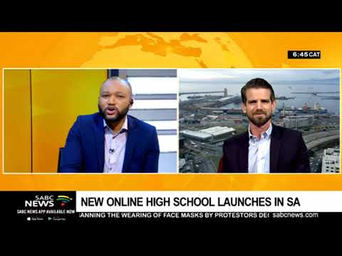 An online high school opens in 2020 in South Africa