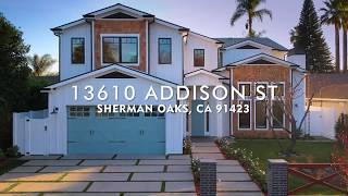 Real Estate Photo Video  \  Sherman Oaks  \ 13610 Addison