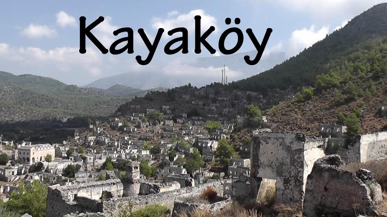 TURKEY: Kayaköy - Ghost Town [HD] - YouTube