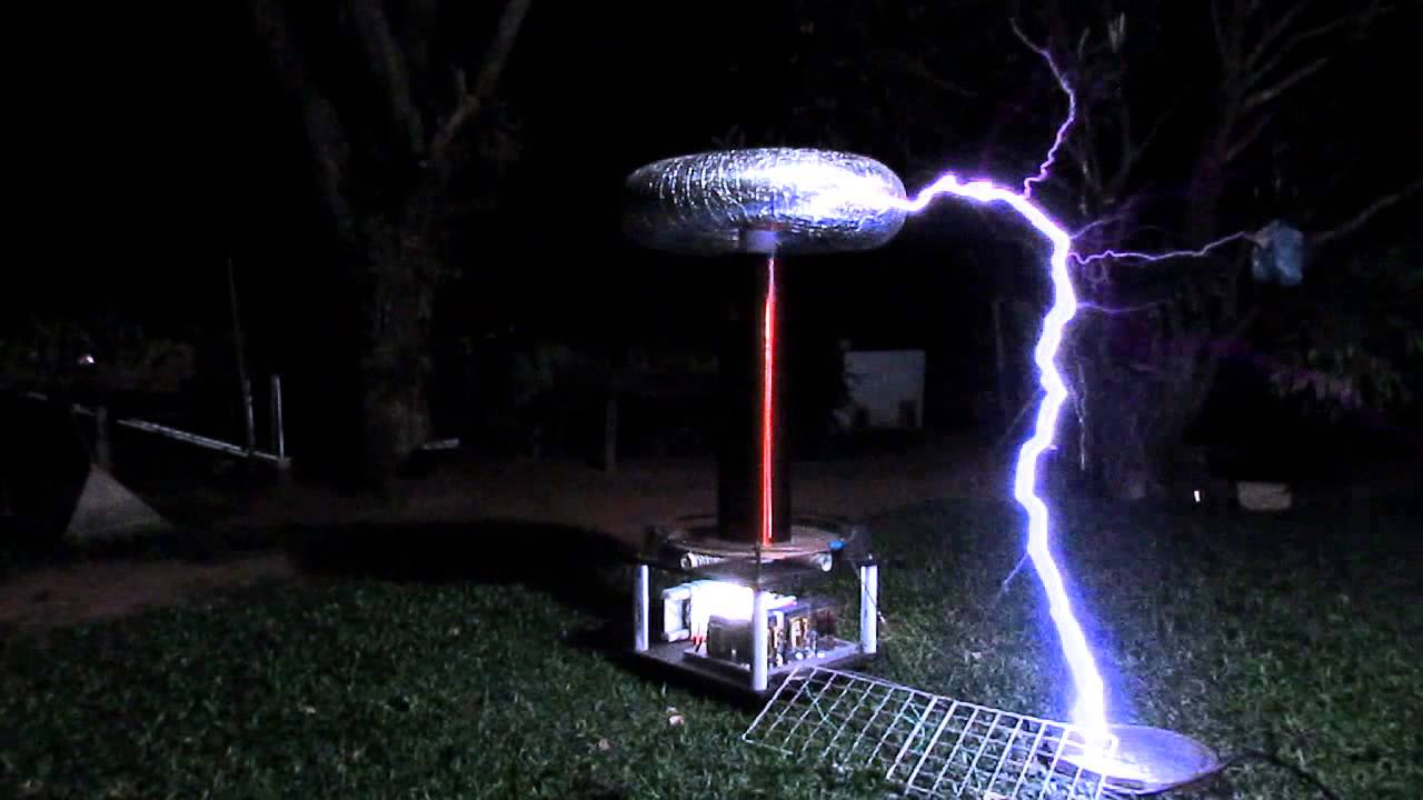 Armageddon Tesla Coil Full Power Run Youtube