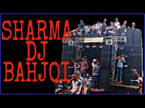 [DJ]Sharma Dj Bahjoi In Moradabad