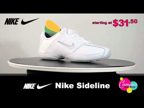 """Nike Sideline Cheer"" Shoe  - A Classic Cheerleading Shoe"