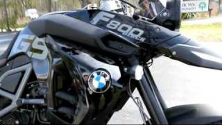 2012 BMW F800GS Triple Black