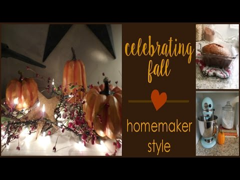 CELEBRATING FALL | Homemaker Style | The Life Giving Home