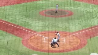 20170720 東京学館新潟・田村颯瀬(1年)、準々決勝でのピッチング thumbnail
