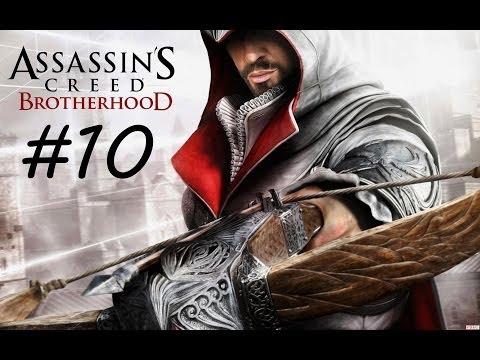 """Assassin's Creed: Brotherhood"", HD walkthrough (100% synchronization), Final Sequence 9: The Fall"